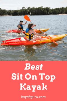 Sit-on-top kayaks and inflatable ones are usually the place to start learning. Sit-on-top models have introduced many people to this growing sport. Astounding Sit-On-Top Inflatable Kayak are Great for Beginners Ideas. Best Fishing Kayak, Fishing 101, Kayak Camping, Van Camping, Camping Site, Alaska Fishing, Saltwater Fishing, Bass Fishing, Camping Hacks