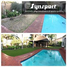 Sometimes the grass is greener on the other side because it's Synsport  Visit our website www.synsport.co.za | www.syntheticlawn.co.za , call now on 021 987 1441 or e-mail us at info@synsport.co.za for your free quote.  #syntheticlawn #savewater #synsport #syntheticgrass #southafrica #capetown #sportsurface #lawns #capetowndrought #knysna #watercrisis