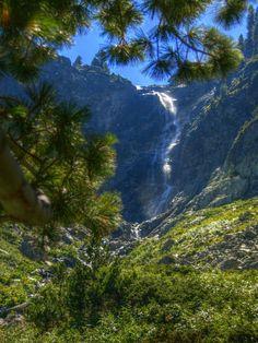 Skakavica Waterfall, Rila, Bulgaria