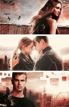 Divergent. Four and Tris. GAHHH. <3