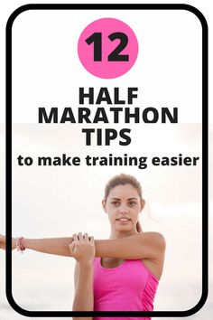 12 Half Marathon Tips You Need to Know - Want to make half marathon training easier? Then read these 12 crucial half marathon training tips! Half Marathon Tips, Half Marathon Training Plan, Marathon Running, Half Marathons, Disney Marathon, Running Quotes, Running Motivation, Track Quotes, Running Humor
