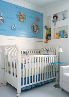 Quartos de bebê: uma galeria de fotos com 102 ambientes - Casa