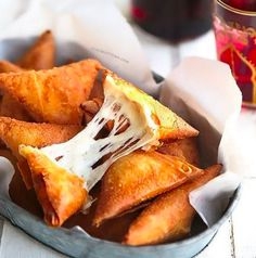 Three cheese samosa | 19 Spectacular Samosas To Stuff In Your Mouth