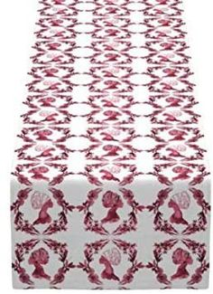 APHROCHIC(RED) Sisters Table Runner Holiday Gift Guide, Holiday Gifts, Table Runners, Sisters, Artisan, Creative, Red, Home Decor, Xmas Gifts