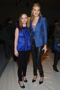 Christina Ricci and Maggie Grace at Richard Chai Love Front Row
