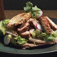 Grilled Chicken Tacos - Bon Appétit (chicken thighs)