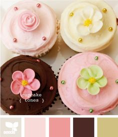 Neapolitan, my love...these remind me of the cupcakes we served on our wedding day.