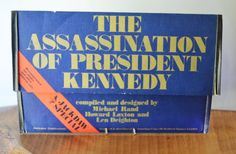 Assassination Of John F Kennedy, 1967 Publication, First Edition , Jackdaw Publi Kennedy Assassination, Jackdaw, John F Kennedy, Vintage Books, Public, Old Books