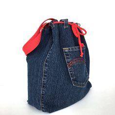 Drawstring bucket bag, Denim shoulder bag, Jean crossbody bag,Recycled side purse,Teens travel bag, Veagn fashion, Denim weekend tote purse by Sisoibags on Etsy https://www.etsy.com/listing/397886367/drawstring-bucket-bag-denim-shoulder-bag