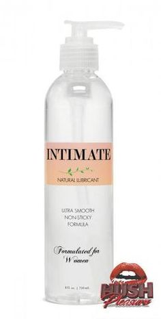 Intimate Natural Lubricant for Women - 8 ounce