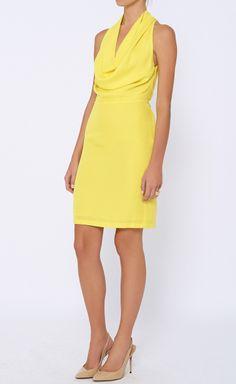 Gucci Yellow Dress | VAUNTE