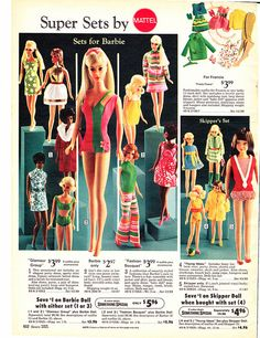 vintage  Barbie ad