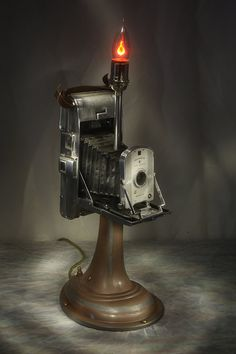 Polaroid Camera Lamp One by KeenerVision on Etsy, $245.00