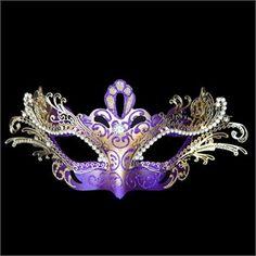 masquerade wedding ideas | ... Venetian Half Mask. Shop stunning Masquerade Ball Masquerade Masks