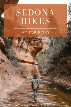 3 Easy & Stunning Hiking Trails in Sedona, Arizona 3 Stunning Sedona Hikes, Best Sedona Hikes- IN BE Sedona Arizona, Arizona Road Trip, Arizona Travel, Visit Arizona, Phoenix Arizona, Places To Travel, Places To Go, Travel Destinations, Camping Places