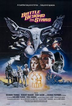 Battle Beyond the Stars (1980) PG* - The classic by B-movie legend Roger Corman.