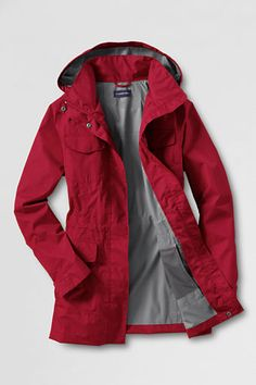Not just a rain coat... A RED rain coat.