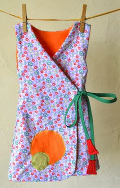 robe kimono réversible