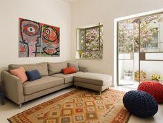 דירת באוהאוס, סלון שטיח