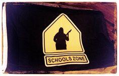 Schools Zone Flag