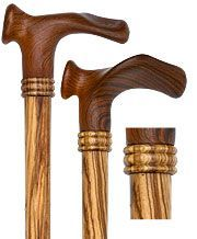 "29/"" to 37/"" Premium Wooden Walking Cane Stick -Thick Round Top Handle Palm Grip"
