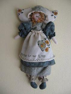 Sweet country ....... detalles con amor: muñecas