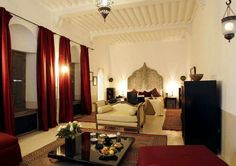 Living room Moroccan style