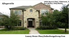 The Pflugerville - luxury house Plan 972-907-0080