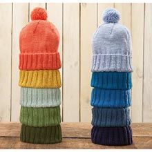 """Winter Warmer Hat/ Easy  Sizes: Adult Small (Medium, Large)  Finished Measurements: Circumference 19 (21½, 24)"""" [38 (55, 61)cm]  Materials: Willow Yarns™ Attire Worsted, 2 (2, 3) balls in color of choice  Needle: US Size 8 (5mm) 16"""""""
