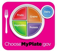 MyPlate blue logo image