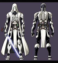 Jedi armor - This design looks amazing