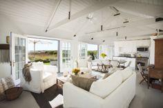 Open truss ceiling