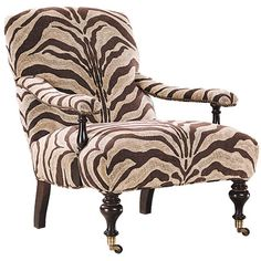 Pretty sure this chair is from allanimalprints.com .... Ummm pretty sure I'll never buy a non animal printed anything, Ever Again LOL ... I'm crazy for prrrrr-ints
