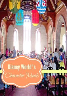 At Disney World one of the most coveted things to do is to eat with the characters. My family travels to Disney World every year and we have dined at most of these restaurants - some more than onc...