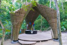 mega structures of bamboo - Google Search