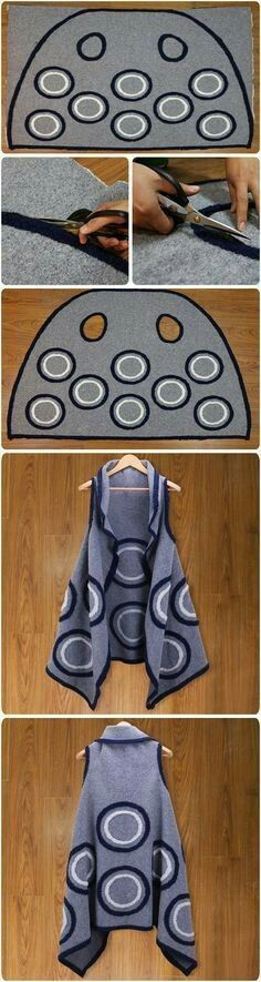 Free coat pattern...<3 Deniz <3