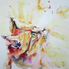 How to Paint a Cat in Watercolour with Liz Chaderton