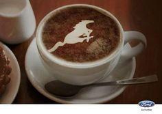 Coffee for you my love ☕ Mustang Humor, Axl Rose, Latte Art, Coffee Love, Tableware, Ethnic Recipes, Desserts, Food, Mustangs