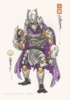 tmnt-clogtwo-illustrations Shredder