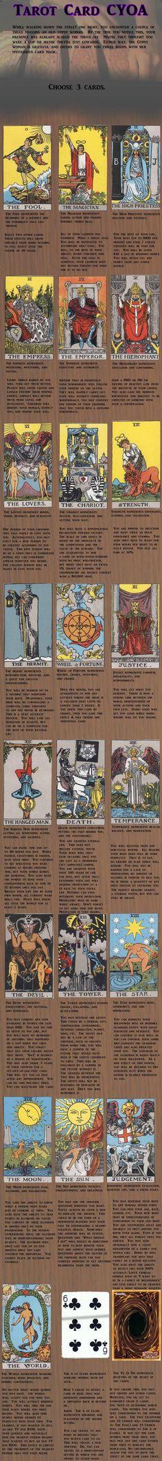 Tarot Card CYOA (found on /tg/)