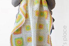 His Majesty – Classic Granny Square Blanket