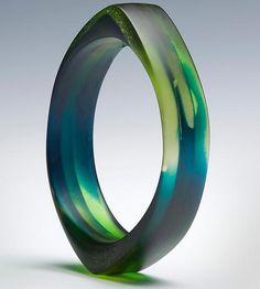 Out of Africa II: Velina Glass: Resin Bracelet - Artful Home