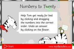 Here's a site where students can practice ordering numbers to 20.