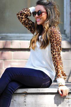 Wild Side Sweater: Leopard