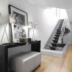 Casa em Braga: Salas de estar modernas por Casa MARQUES INTERIORES