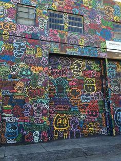 Street art | Mural (Amsterdam, Netherlands) by Chanoir