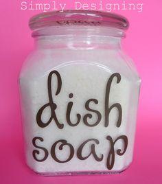 Hard Water Stains? Dishwasher detergent that works! Hmmm...