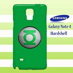 Green Lantern Logo Samsung Galaxy Note 4 Case Cover Hardshell