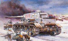 un réservoir, panzer 4, pz.kpfw. IV ausf. g