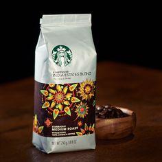 インディア エステーツ ブレンド (2014/09/25〜) ◆[オンラインストア限定]スターバックス初のインド産コーヒー◆チョコレートのような口あたりと、青々しいハーブを思わせる風味に、ほのかなシトラス感が重なり合う、バランスのとれたコーヒーです。